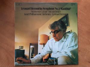 Leonard Bernstein: Symphony No. 3 »Kaddish« / Montserrat Caballé, Michael Wager, Israel Philharmonic Orchestra, Leonard Bernstein / Hungaroton LP 1978 Stereo / SLPXL 12505