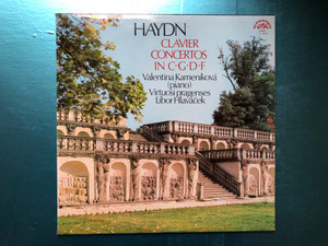 """Haydn - Symphony No. 92 in G major """"Oxford""""; Symphony No. 48 in C major """"Maria Theresia"""" / Prague Chamber Orchestra, Conductor: Dean Dixon / Supraphon LP Stereo / 1 10 1202"""