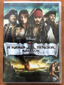 Pirates of the Caribbean: On stranger Tides DVD 2011 A Karib-tenger kalózai - Ismeretlen vizeken / Directed by Rob Marshall / Starring: Johnny Depp, Penélope Cruz, Ian McShane, Kevin R. McNally (5996255736250)