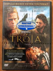 Troy 2DVD 2004 Trója / Directed by Wolfgang Petersen / Starring: Brad Pitt, Eric Bana, Orlando Bloom, Diane Kruger / Duplalemezes extra változat (5999010453591)