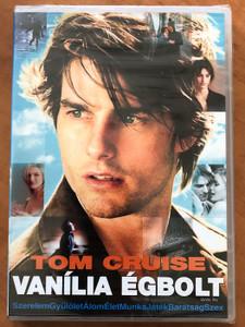 Vanilla sky DVD 2001 Vanília égbolt / Directed by Cameron Crowe / Starring: Tom Cruise, Penélope Cruz, Kurt Russell, Jason Lee (5996255727210)