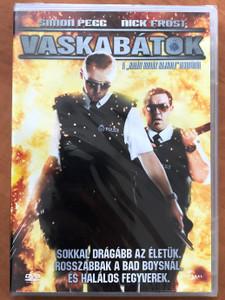 Hot Fuzz DVD 2007 Vaskabátok / Directed by Edgar Wright / Starring: Simon Pegg, Nick Frost, Jim Broadbent (5996255724974)