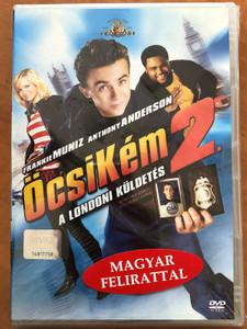 Agent Cody Banks 2: Destination London DVD 2004 ÖcsiKém 2 - A londoni küldetés / Directed by Kevin Allen / Starring: Frankie Muniz, Anthony Anderson, Hannah Spearritt, Cynthia Stevenson (5996255714234)