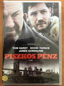 The Drop DVD 2014 Piszkos pénz / Directed by Michael R. Roskam / Starring: Tom Hardy, Noomi Rapace, James Gandolfini (5996255739435)