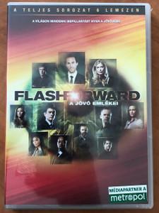 Flash Forward 6 DVD BOX 2009 A jövő emlékei / Created by Brannon Braga & David S. Goyer / The Whole Series - Teljes sorozat 6 lemezen (5996255733945)