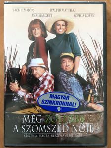 Grumpier Old Men DVD 1996 Még zöldebb a szomszéd nője / Directed by Howard Deutch / Starring: Jack Lemmon, Walter Matthau, Ann-Margret, Sophia Loren (5999048900036)