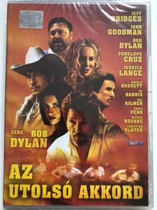 Masked and Anonymous DVD 2003 Az utolsó akkord / Directed by Larry Charles / Starring: Bob Dylan, Jeff Bridges, John Goodman, Penélope Cruz (5998133155238)