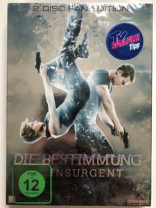 Divergent DVD 2014 Die Bestimmung / Directed by Robert Schwentke / Starring: Shailene Woodley, Theo James, Ashley Judd, Jai Courtney (4010324201508)