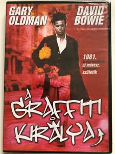 Basquiat DVD 1996 A grafitti királya / Directed by Julian Schnabel / Starring: Jeffrey Wright, David Bowie, Dennis Hopper, Gary Oldman, Benicio del Toro (5999881067293)