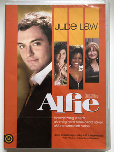 Alfie DVD 2004 / Directed by Charles Shyer / Starring: Jude Law, Marisa Tomei, Omar Epps, Nia Long (5996051321919)
