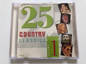 25 Country Classics Volume 1 / Tring International PLC Audio CD / VAR009