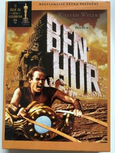 Ben-Hur 4DVD Box 1959 Hungarian Limited Edition / Directed by William Wyler / Charlton Heston; Jack Hawkins; Haya Harareet; Stephen Boyd; Hugh Griffith; Martha Scott; Cathy O'Donnell; Sam Jaffe (5999048909992)