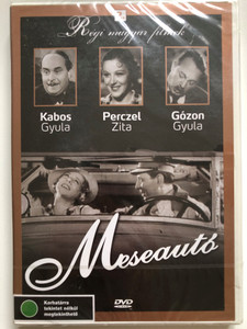 Meseautó (1934) DVD Dream Car - Hungarian Classic film / Directed by Gaál Béla / Starring Törzs Jenő, Perczel Zita, Kabos Gyula (5999882685038)