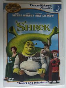 Shrek DVD 2001 / Directed by Andrew Adamson, Vicky Jenson / Starring: Mike Myers, Eddie Murphy, Cameron Diaz (678149069921)