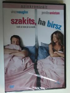 The Break Up DVD 2006 Szakíts, ha bírsz / Directed by Peyton Reed / Starring: Vince Vaughn, Jennifer Aniston, Joey Lauren Adams, Ann-Margret, Judy Davis (5996051040247)