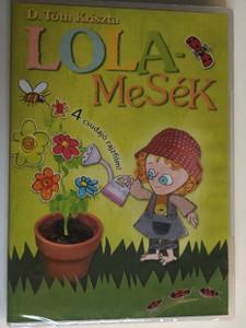 Lola-Mesék DVD 4 csudajó rajzfilm / Hungarian tales by D. Tóth Kriszta / 4 episodes / 1. Paradicsom kertészet, 2. Legeslegjobb barátok, 3. Kukasziget és palackpulcsi 4. Jövős-menős karácsony (5999884694090)