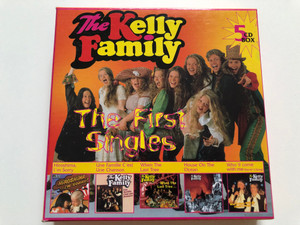 The Kelly Family – The First Singles / Hiroshima, I'm Sorry, Une Famille C'est Une Chanson, When The Last Tree..., House On The Ocean, Who'll Come With Me (David's Song) / Kel-Life 5x Audio CD 1996 / 96-850
