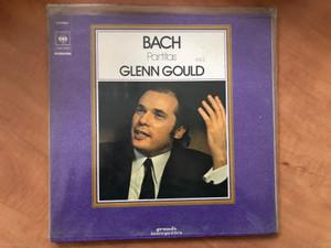 Bach - Partitas Vol.2 - Glenn Gould / Grands Interprètes / CBS LP Stereo / CBS 75522