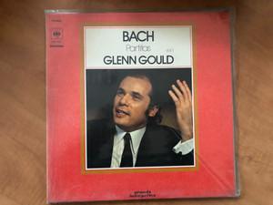 Bach - Partitas (Vol.1) - Glenn Gould / Grands Interprètes / CBS LP Stereo / CBS 75521