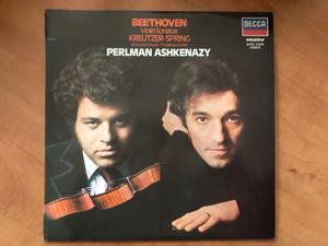 Beethoven - Violin Sonatas Kreutzer - Spring = Kreutzersonate - Frühlingssonate / Perlman, Ashkenazy / Hungaroton LP 1981 Stereo / SLPXL 31250