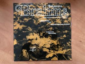 Johannes Brahms - Violin Concerto In D Major, Op. 77 / Dénes Kovács (violin), Budapest Philharmonic Orchestra, Conducted by Miklós Erdélyi / Hungaroton LP / LPX 11467