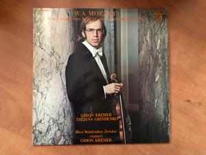 W. A. Mozart - G-Dúr Hegedűverseny, K. 216; Concertone Két Hegedűre, K. 190 / Gidon Krémer, Tatjana Grindenko, Bécsi Szimfonikus Zenekar Vezényel Gidon Krémer / Hungaroton LP 1978 Stereo, Mono / SLPX 12079