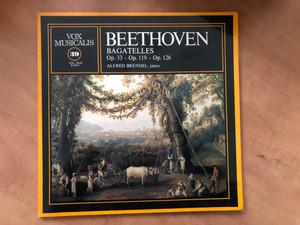 Beethoven Bagatelles Op. 33, Op. 119, Op. 126 / Alfred Brendel, piano / Vox Musicalis LP Stereo / 35039