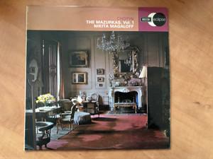 Chopin - The Mazurkas, Vol. 1 / Nikita Magaloff / Decca Eclipse LP Stereo / ECS 620