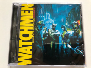 Watchmen - Music From The Motion Picture - Various Artists / Warner Sunset Records Audio CD 2009 / 9362-49809-1