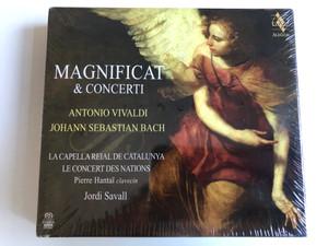 Magnificat & Concerti - Antonio Vivaldi, Johann Sebastian Bach / La Capella Reial De Catalunya, Le Concert Des nations, Pierre Hantaï, Jordi Savall / Alia Vox Audio CD + DVD CD 2014 / AVSA9909D