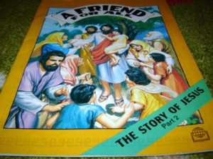 A Friend For All - The Story of Jesus part 2 - Full Color Commic Bible Story ...