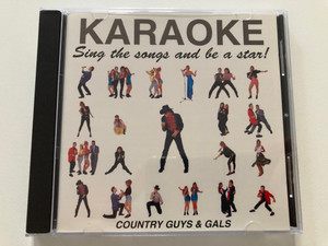 Karaoke - Sing the songs and be a star! - Country Guys & Gals / Point Productions Audio CD 1992 / 2621192