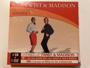 Twist & Madison - Collection Dansez! / Dansez Le Twist & Madison, CD: Les plus grands titres pour danser le Twist & Madison, DVD: Le cours de danse par des professionnels / Warm-Up Audio CD + DVD CD 2008 / 3130512