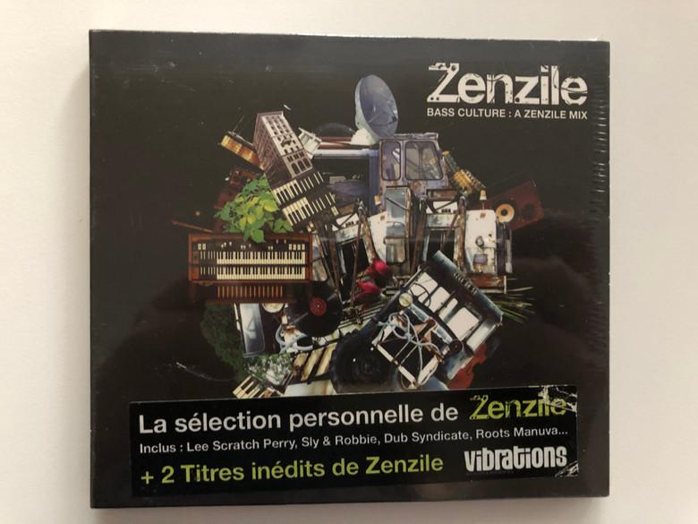 Zenzile – Bass Culture : A Zenzile Mix / Inclus: Lee Scratch Perry, Sly & Robbie, Dub Syndicate, Roots Manuva... + 2 Titres inedits de Zenzile / Wagram Electronic Audio CD 2005 / 3108112