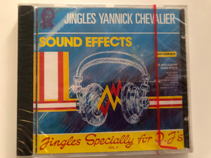 Jingles Yannick Chevalier - Sound Effects - Jingles Specially For D.J.'s Vol. 6 / Double Album On CD / 165 Spectaculars Sound Effects / Police Sirens, Explosions, Car Accidents, Sounds Of Broken Glassesb / ZYX Records Audio CD Stereo / ZYX CD 80.024