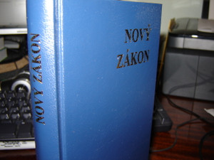 Novy Zakon / Slovak Catholic New Testament with study notes