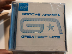 Groove Armada – Greatest Hits / Includes The Singles: Song 4 Mutya, I See You Baby, At The River, Superstylin' / Sony BMG Music Entertainment Audio CD 2007 / 88697185082
