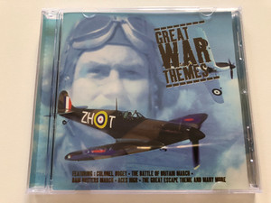 Great War Themes / Featuring: Colonel Bogey, The Battle Of Britain March, Dam Busters March, Aces High, The Great Escape Theme, and many more / E2 Audio CD 1998 / ETDCD 038
