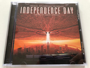 Independence Day (Original Soundtrack Recording) - Music by David Arnold / RCA Victor Audio CD 1996 / 09026 68564 2