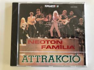 Neoton Família – Attrakció / Hungaroton Audio CD 1988 / HCD 37205