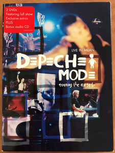 Depeche Mode Live in Milan - Touring the angel 2xDVD 1 xCD 2006 / Suffer well, Precious, I feel you, Enjoy the silence / DMDVD5 / Venus note Limited / 3 discs (0094637142592)
