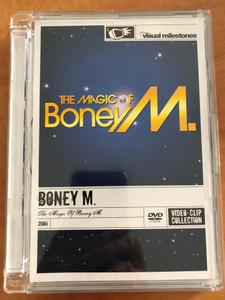 Boney M - The Magic of Boney M. DVD 2006 Video Clip Collection / Visual Milestones - Sony BMG Music Entertainment (886973598290)