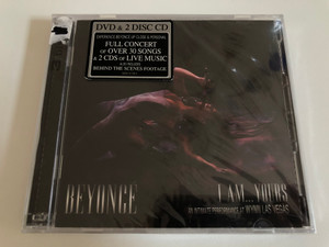 Beyoncé – I Am... Yours: An Intimate Performance At Wynn Las Vegas / Experience Beyonce Up Close & Personal Full Concert Of Over 30 Songs & 2 CDs Of Live Music / Sony Music 2x Audio CD + DVD CD 2009 / 88697 61758 2