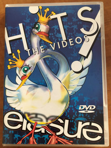 Erasure – Hits! The Videos 2xDVD 2003 / Mute records / DVDMUTEL10 / Heavenly Action, Victim of love, You Surround Me, Breath of Life, Make Me Smile (0724349092792)