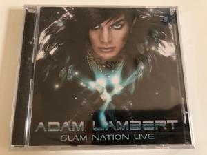 Adam Lambert – Glam Nation Live / 19 Recordings Audio CD + DVD 2011 / 88697834262