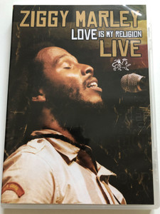 Ziggy Marley - Love is my religion Live DVD 2008 / Tuff Gong / TGW0002 / Make some music, Be free, A lifetime, Jammin / Behind the Scenes, Making of (804879091998)