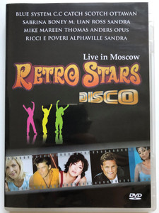 Retro Stars Disco DVD Live in Moscow / Blue System, C.C Catch, Boney M, Opus, Amanda Lear, Weather Girls / Frontline producitons (5999883707302)