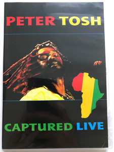 Peter Tosh DVD 1984 Captured live / EMI Records / African, Coming in Hot, Where You Gonna Run, Glass Hous, Get up, Stand Up (724353941796)