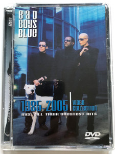 Bad Boys Blue 1985-2005 DVD Video Collection / Including all their greatest hits / Coconut Records / Pretty Young Girl, Kisses and Tears, Come Back and Stay, A train to Nowhere, Save Your Love (4029758621783)