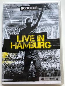 Scooter - Live in Hamburg DVD / Edel Germany - Sheffield Tunes Communications / Posse, Fire, Jump that Rock, Nessaja (4250117613174)